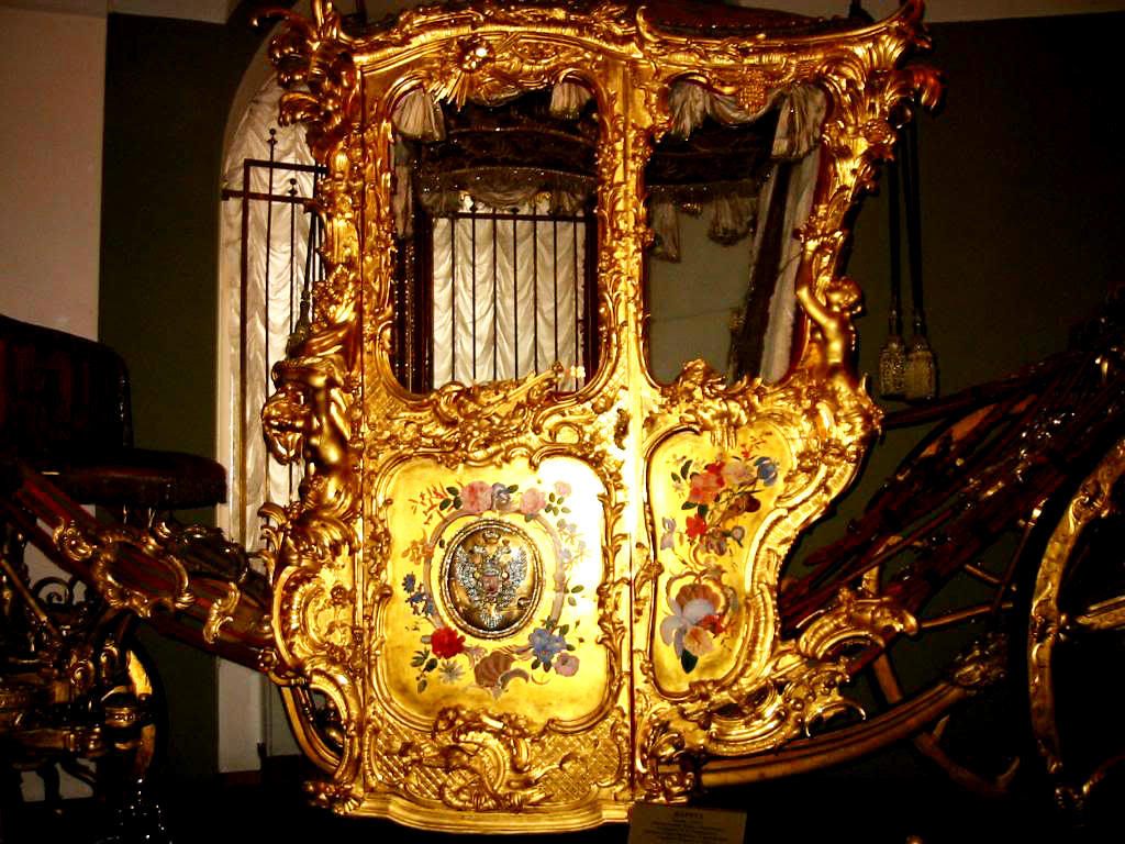 The Golden Carriage!