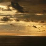 El sol en el horizonte, Manuelantonio, Costa Rica
