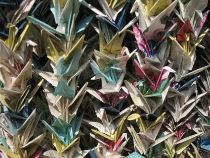 Origami in Kyoto