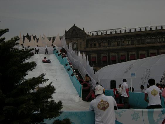 Zócalo Nieve Palacio