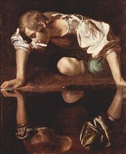 Narciso |Michelangelo_Caravaggio | 1594-1596